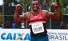 A marca de 8.364 pontos, conquistada no Troféu Brasil do ano passado, possibilitou a Felipe Santos o índice olímpico para os Jogos de Tóquio-2021.