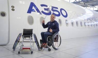 Airbus cria cadeira de rodas especial para atleta paralímpico