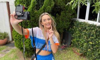 Atriz e cantora Camilla Rocha é uma das adolescentes mais seguidas nas redes sociais . Foto: Divulgação