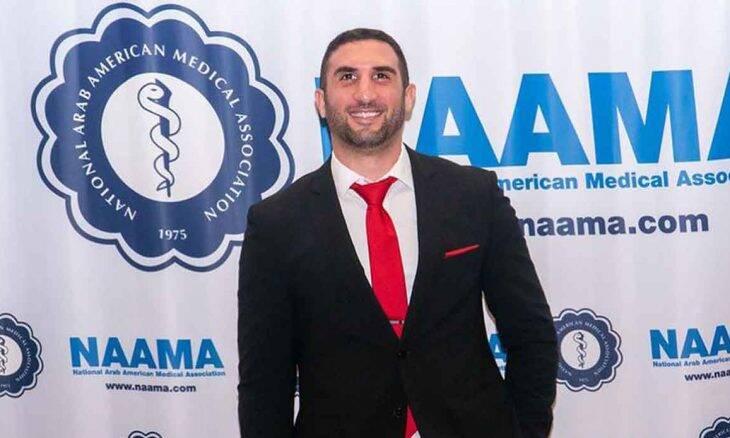 Omar Hajmurad, o Doutor Ohaj: conheça o médico influenciador que luta contra a Covid-19 e contra as guerras civis no Oriente Médio. Foto: Divulgação