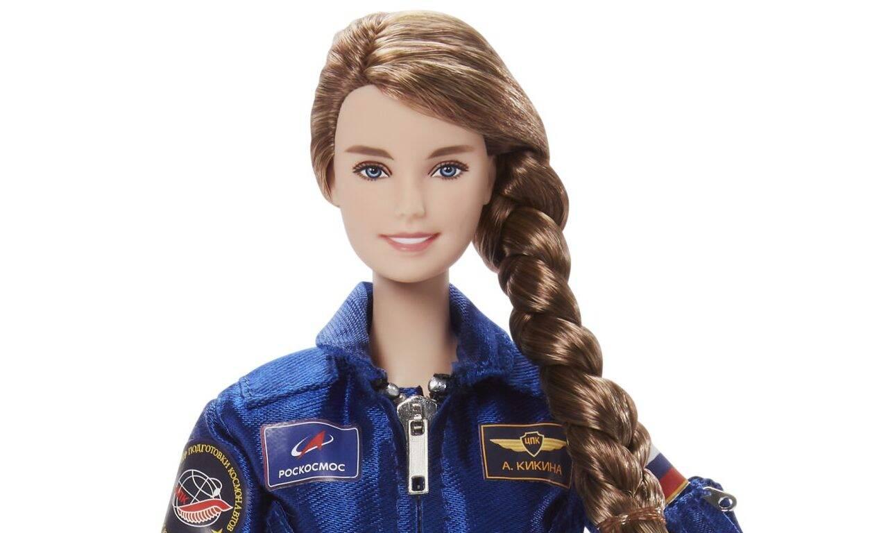 Cosmonauta russa inspira criação de nova boneca Barbie