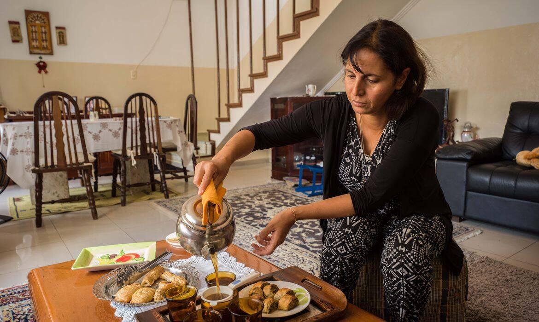 chefe de cozinha Fatima Ismail