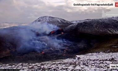 Assista ao vivo pelo YouTube a uma erupção vulcânica