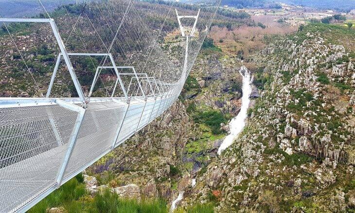 Com meio quilômetro: Portugal abre ponte suspensa mais longa do mundo