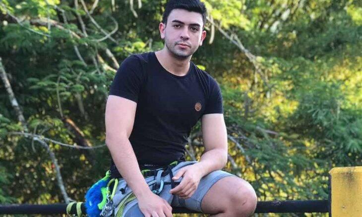 Influenciador Raphael Carpejane conta como a atividade física ajuda a lidar com estresse do dia a dia. Foto: Divulgação