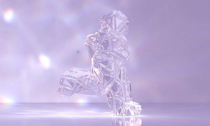 Run Forever: vídeo impressiona com figura que muda de forma e texturas