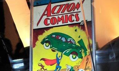 Revista rara do Super-Homem é vendida por US$ 3,25 milhão
