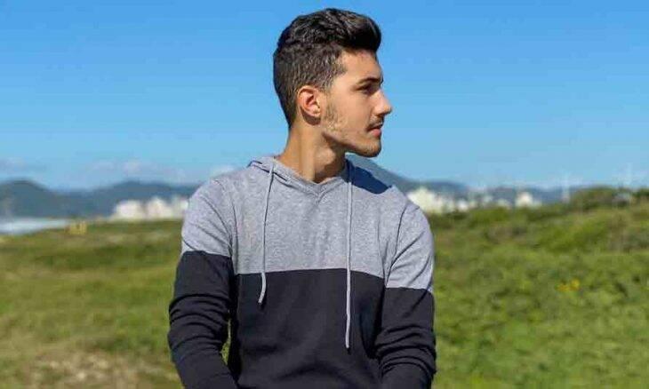 O 'Rei das Promoções': influenciador e modelo Matheus Freire conquista os fãs com vídeos diversos e promoções tentadoras. Foto: Divulgação