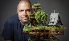 Fotógrafo de aviões cria impressionante vilarejo em miniatura
