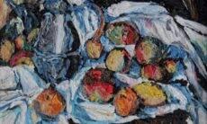 Artista recria obras de arte com sacolas plásticas