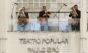 Covid-19: orquestra se apresenta em posto de vacinação em SP