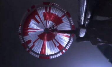 Vídeo feito pelo robô Perseverance em Marte ganha som e resolução 4K