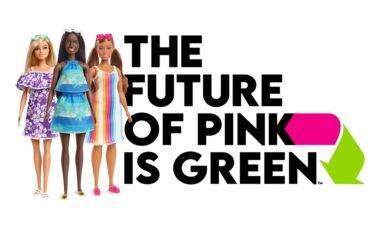 Nova coleção traz bonecas Barbie feitas com plástico retirado do mar