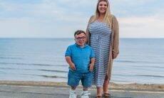 Casal britânico quebra recorde de maior diferença de altura