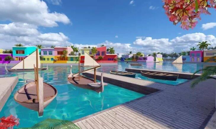 Maldivas prepara cidade flutuante para lidar com elevação de nível dos mares