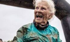 Idosa de 81 anos completa corrida de obstáculos... pela 2ª vez