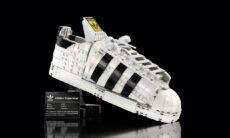 Lego revela tênis da Adidas totalmente feito de blocos