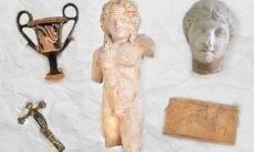 Museu Nacional recebe doação de 27 peças greco-romanas