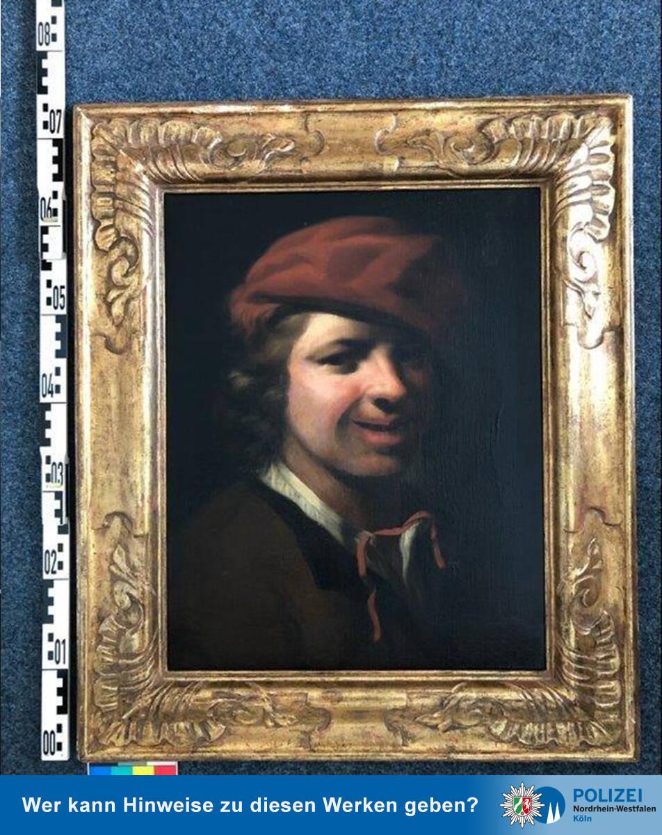 Retrato de um menino criado pelo holandês Samuel van Hoogstraten (1627-1678)