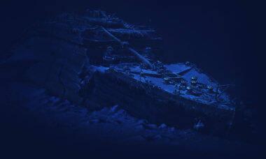 Companhia leva turistas para ver destroços do Titanic