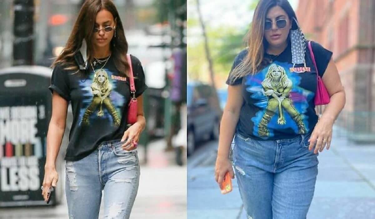 Fashionista recria roupa de celebridades para defender a aceitação do corpo