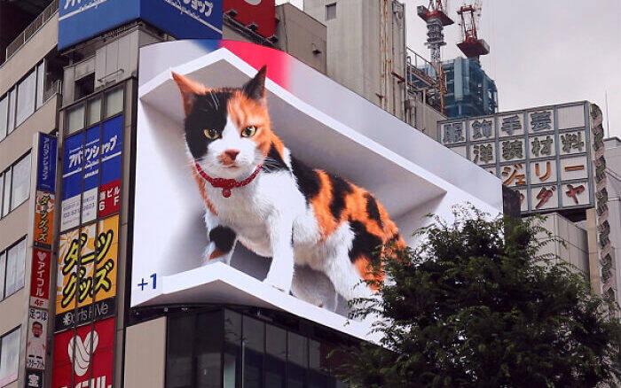 Propaganda com gato ultrarrealista em 3D viraliza na internet