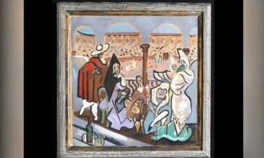 Obra desconhecida de Picasso é encontrada em armário nos EUA
