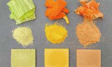 Pesquisadores transformam restos de comida em material de construção