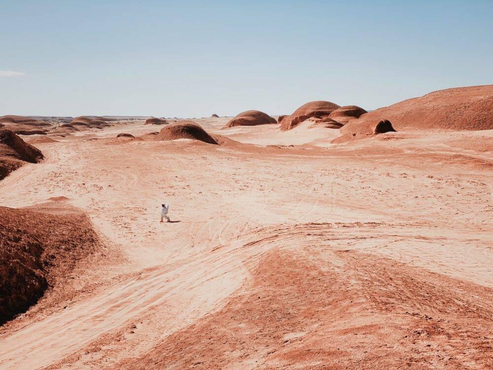 A Walk on Mars (Dan Liu)
