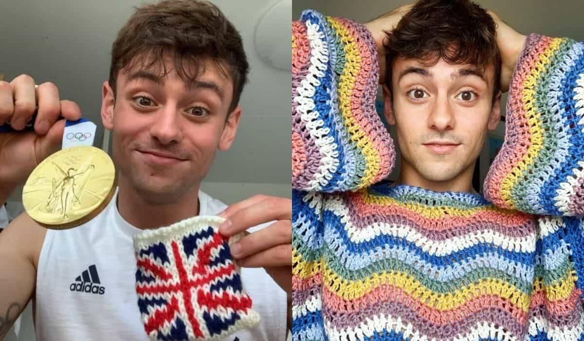 Medalhista olímpico que se dedica ao tricô e o crochê faz sucesso na web