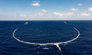 ONG comemora sucesso de sistema para retirada de plástico dos oceanos