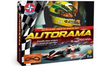 Estrela relança autorama de Ayrton Senna