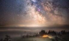 Fotógrafo registra imagens impressionantes do céu noturno