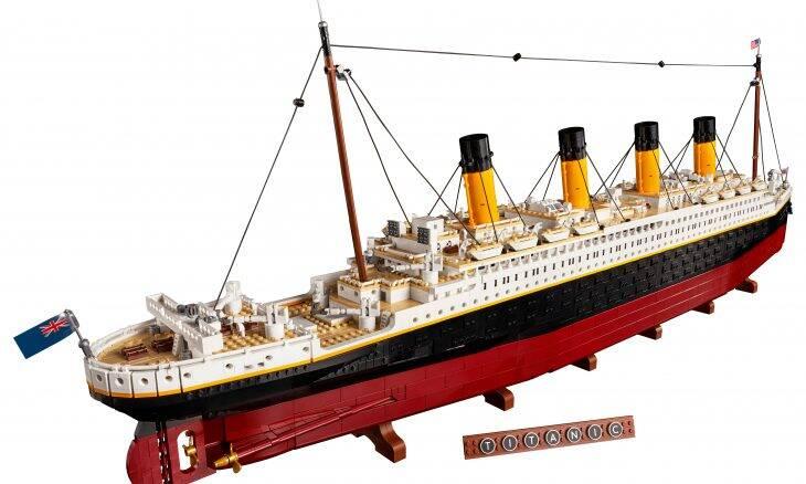 Titanic vira kit oficial de Lego com 9.000 peças